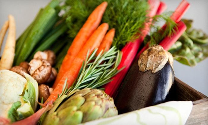 Florida Fresh Organics - Tampa Bay Area: $21 for Delivery of Medium Box of Organic Produce from Tampa Bay Organics ($42 Value)