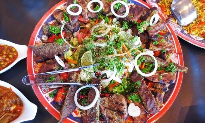 Afghan cuisine afghan chopan restaurant groupon for Afghan cuisine restaurant