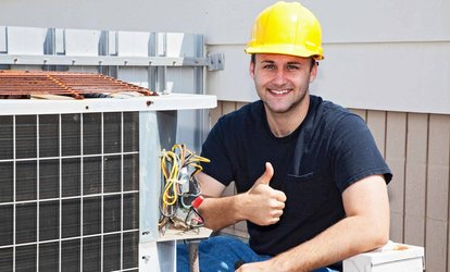 image for $39 for an Air-Conditioner Service Call from First Class Heat & Air ($89.90 Value)