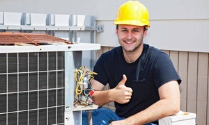First Class Heat & Air: $39 for an Air-Conditioner Service Call from First Class Heat & Air ($89.90 Value)