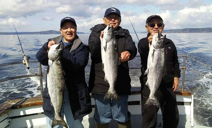 Salmon <strong>Fishing</strong> Trip for One at All Season Charters (29% Off)