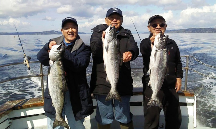 All Season Charters - Edmonds: Halibut, Ling Cod, or Salmon Fishing Trip from All Season Charters (Up to 46% Off)