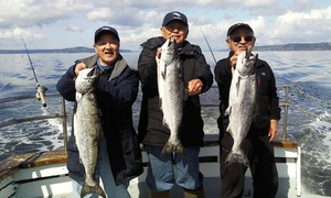 All Season Charters: Halibut, Ling Cod, or Salmon Fishing Trip from All Season Charters (Up to 46% Off)
