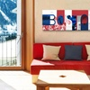 Sports City Mania Panoramic Gallery-Wrapped Canvas Prints