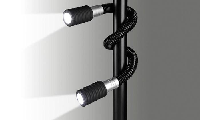24-LED Dual-Head Twist Light: 24-LED Dual-Head Twist Light. Free Returns.