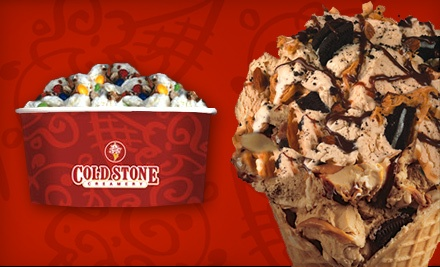$11 for Two Groupons, Each Good for $10 Worth of Ice Cream at Cold Stone Creamery ($20 Total Value)