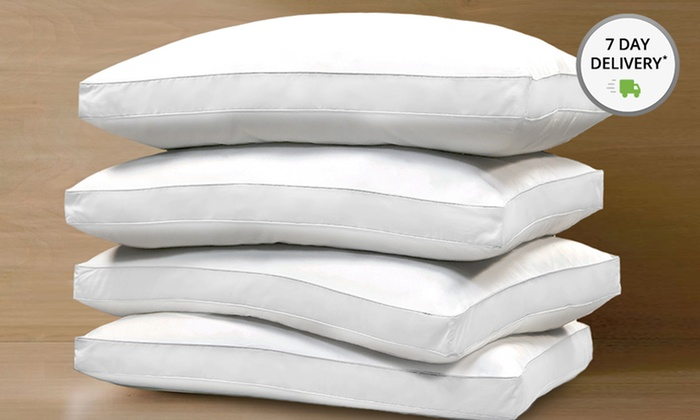 Hotel Grand 1,000-Thread-Count Pillows: 2- or 4-Pack of Hotel Grand Egyptian-Cotton 1,000-Thread-Count Pillows from $39.99–$59.99