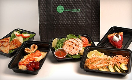 $125 for Two Consecutive Weeks of Delivered Healthful Meals from Success Meals KC ($417.76 Value)