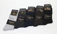 15 ou 30 paires de chaussettes Cerruti, taille et coloris au choix, dès 19,99€ (jusqu'à 75% de réduction)