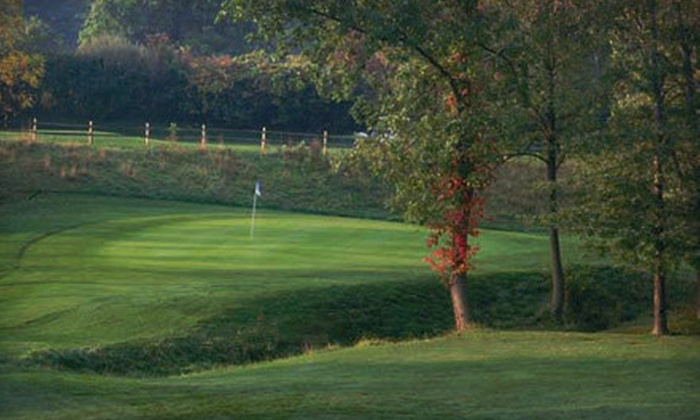 Fallen Timbers Fairways - Waterville: 9 or 18 Holes of Golf for Two or Four with Cart, Range Balls, and Lunch at Fallen Timbers Fairways (Up to 60% Off)
