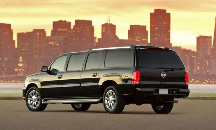 Total serv - Total serv: Three Hours of Limo Rental from Total serv (45% Off)