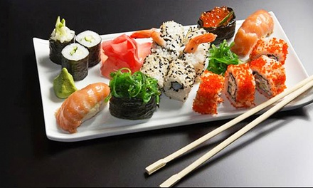 One or Two Groupons, Each Good for $20 Worth of Sushi and Japanese Food, at Wasabi Sushi (Up to 45% Off)
