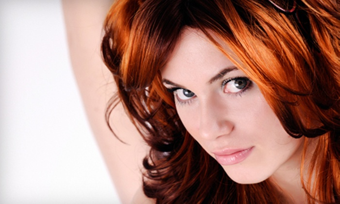 Christie & Co. - Glen Burnie: Brazilian Blowout or Haircut and Deep Conditioning with Optional Partial Highlights at Christie & Co. (Up to 62% Off)