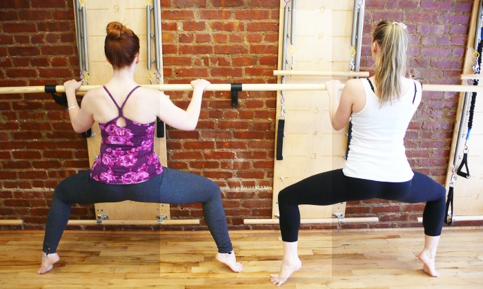 Ellie Herman Studio - Multiple Locations: 5 or 10 Barre, Pilates Springboard, MELT, or Yoga Classes at Ellie Herman Studio (Up to 57% Off)