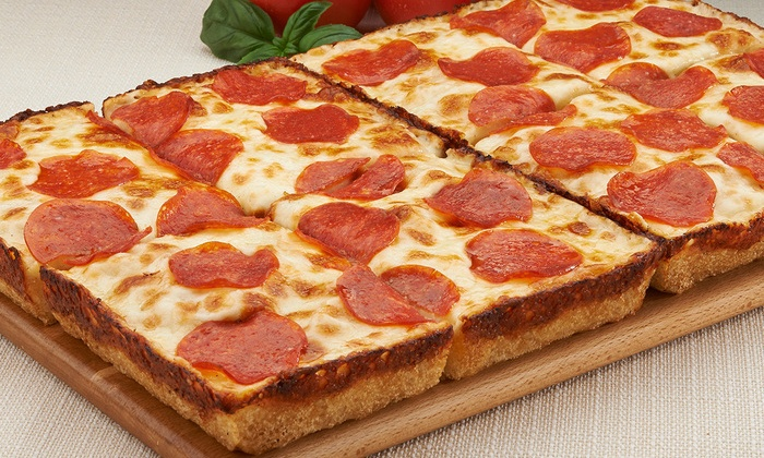 Jet's Pizza - Chattanooga: $16 for One Eight-Corner Pizza with Four Toppings and Breadsticks at Jet's Pizza ($29.78 Value)