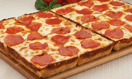 $16 for One Eight-Corner Pizza with Four Toppings and Breadsticks at Jet's Pizza ($29.78 Value)