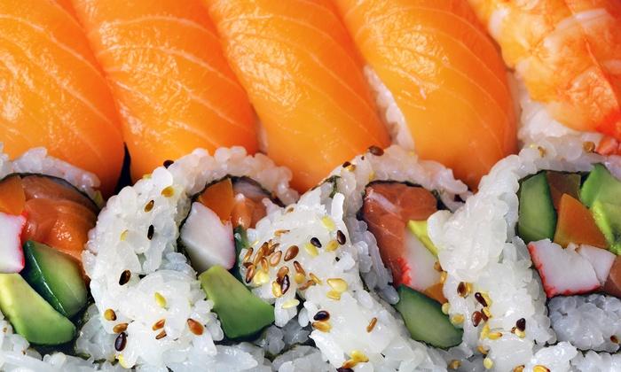 Sakana Sushi & Hibachi - Wayzata- Maple Grove- New Hope: Sushi at Sakana Sushi & Hibachi (Up to Half Off). Two Options Available.