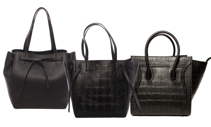 C¨¦line Leather Fashion Bags | Groupon