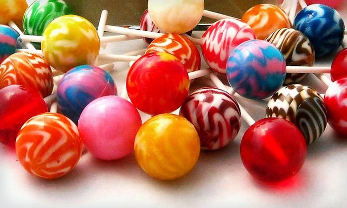 60 Gourmet Lollipops: $24 for 60 Gourmet Lollipops ($34.99 List Price). Free Shipping.