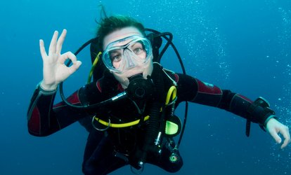 Three-Day Open Water Dive Course for One ($395) or Two People ($790 (Up to $940 Value)