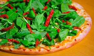 Bella Vista Brazilian Pizza: All-You-Can-Eat Gourmet Pizza for Dine-In or Pizza for Carry-Out at Bella Vista Brazilian Pizza (Up to 43% Off)