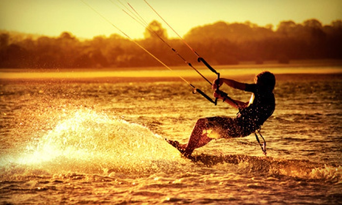Folly Beach Water Sports - Folly Beach: $125 for a Kitesurfing Lesson for Two at FB Watersports ($300 Value)