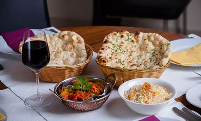 image for Two-Course Indian Meal with Sides and Beer or Glass of Wine for Two or Four at Curry Culture (Up to 57% Off)
