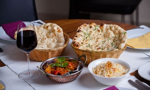 Curry Culture: Two-Course Indian Meal with Sides and Beer or Glass of Wine for Two or Four at Curry Culture (Up to 57% Off)