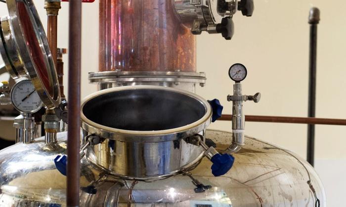 Chuckanut Bay Distillery - Bellingham: Distillery Tour, Tasting, and Take-Home Shot Glasses for Two or Four at Chuckanut Bay Distillery (Up to 66% Off)