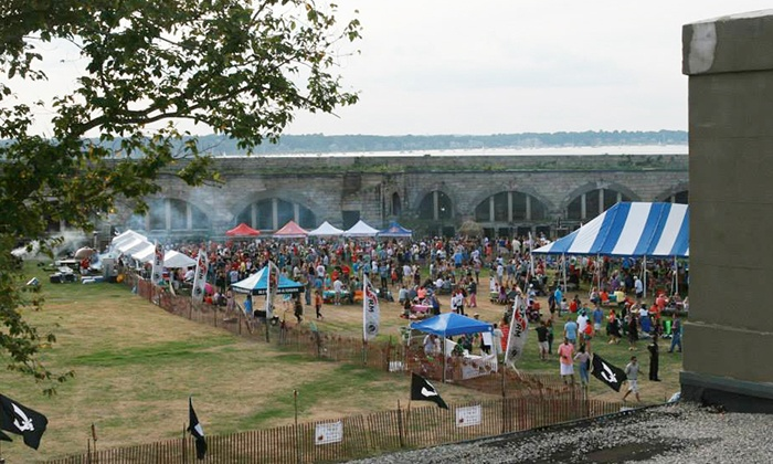 17th Annual Newport Storm Luau - Fort Adams State Park: $15 for Two Tickets to Newport Storm Luau from Coastal Extreme Brewing on August 15 (Up to $40 Value)