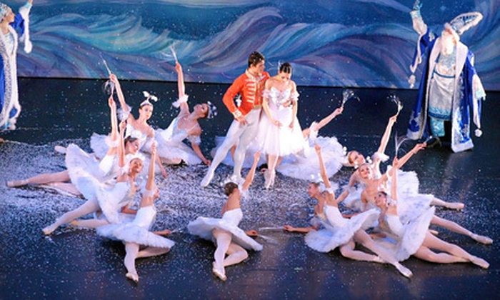 """Moscow Ballet - McFarlin Auditorium: Moscow Ballet's """"Great Russian Nutcracker"""" at McFarlin Auditorium on Friday, November 16, at 7:30 p.m. (Up to 55% Off)"""