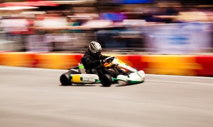 Kart-O-Mania: 10 Minutes of Indoor Go-Karting for One, Two or Four at Kart-O-Mania (Up to 31% Off)