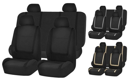 Flat Cloth Automobile Seat-Cover Set