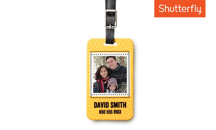 Shutterfly: $3.99 for One Large Luggage Tag from Shutterfly (60% off)