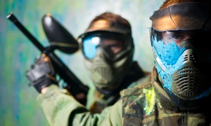NVP Paintball : Paintball Package with Equipment, Unlimited Air Fills, and Paintballs for 2 or 4 at NVP Paintball (44% Off)