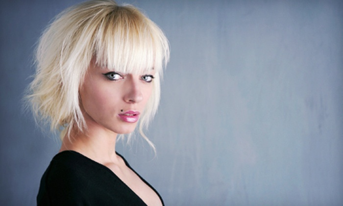 Jim Ostrosky Salon - Vestavia Hills: Haircut and Style with Optional Partial or Full Highlights or Color at Jim Ostrosky Salon (Up to 62% Off)