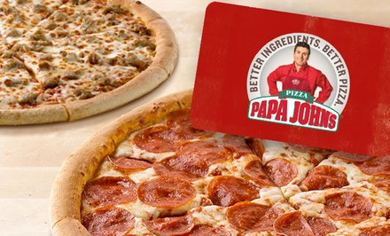 image for 2 Free Pizzas with $25 eGift Card Purchase (55% Off) – All Locations