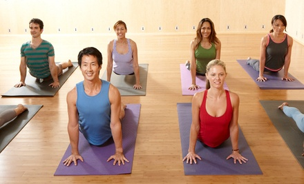 $30 for One Month of Unlimited Yoga and Fitness Classes at YogaWorks ($149 Value)