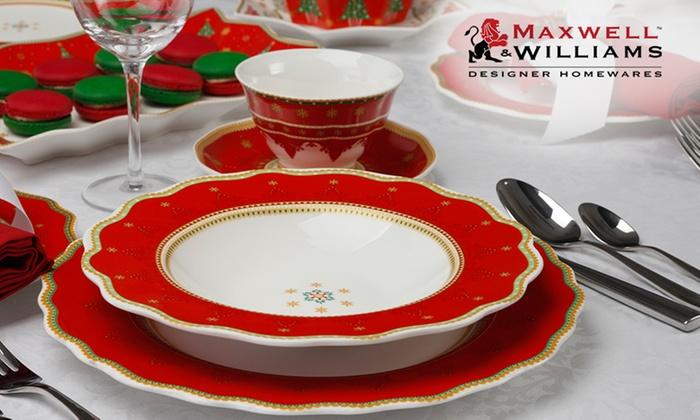 $29 Maxwell u0026 Williams Dinner ... & $29 Maxwell u0026 Williams Dinner Set | Groupon Goods