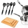 Sunbeam Ansonville Stainless Steel Cookware Set (14-Piece)