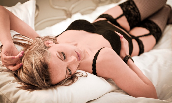 E Owens Photography - Renton: $100 for a 60-Minute Boudoir Photo Shoot from E Owens Photography (75% Off)