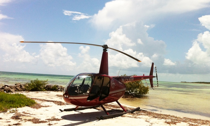 Timberview Helicopters - Destin: $155for a Romantic Helicopter Tour at Timberview Helicopters ($337 Value)