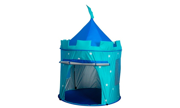 Pop Up Castle Play Tent Groupon Goods