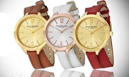 Stuhrling Original Vogue Wrap-Around Collection Women's Swiss Watch