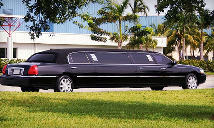 Extreme Elegance Limousine Service - Houston: Three-Hour BYOB Ride in a Luxury Sedan, SUV, or 10-Person Limo from Extreme Elegance Limousine Service (Up to 56% Off)