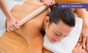 City Day Spa: One-Hour Hot Bamboo Massage with Indian Head Massage at City Day Spa (59% Off)