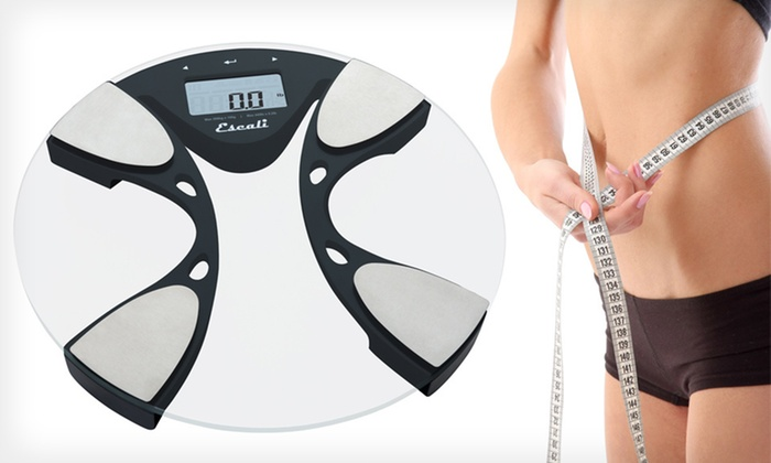 Escali Body-Fat Scale: $28 for an Escali Body-Fat and Body-Water Scale ($79.95 List Price). Free Shipping and Free Returns.