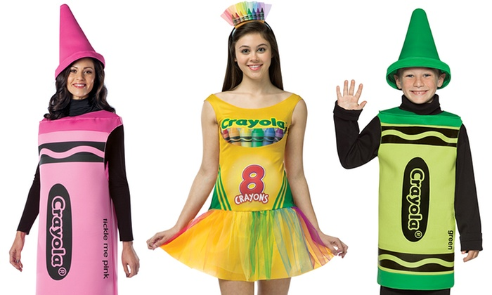 Crayola Kids and Adult Costumes | Groupon Goods