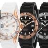 Swiss Legend Luminous Women's Silicone-Band Watch