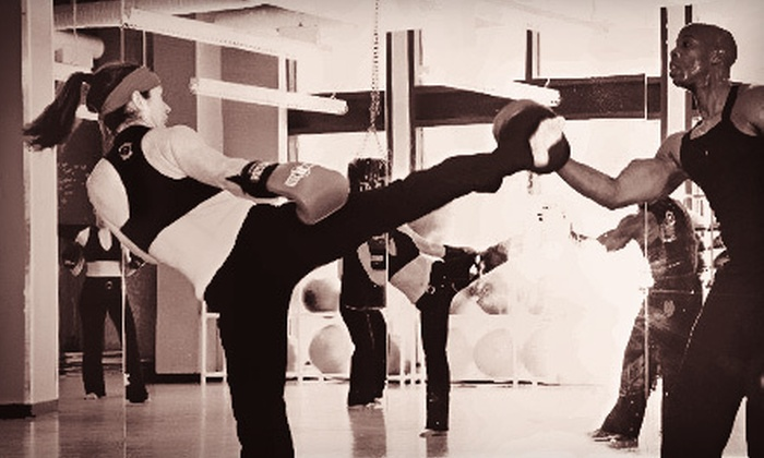 Sweat Box - Back Bay: 5 or 10 Women's Martial-Arts-Based Fitness Classes at Sweat Box (Up to 70% Off)